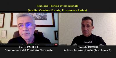 Oltre 250 arbitri a lezione con Daniele DOVERI
