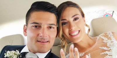 Oggi sposi, auguri all'arbitro Pierpaolo Calenzo