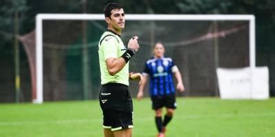 Esordio in Serie D per l'arbitro Giuseppe Scarpati